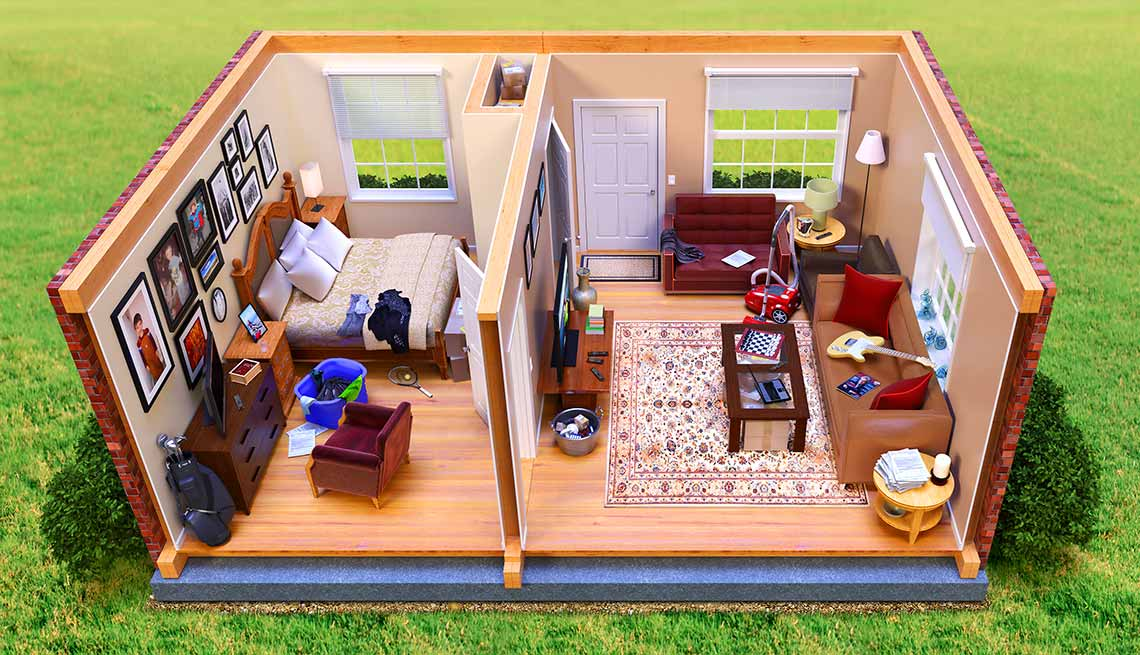 Tips to Declutter and Clean up Your Home - AARP