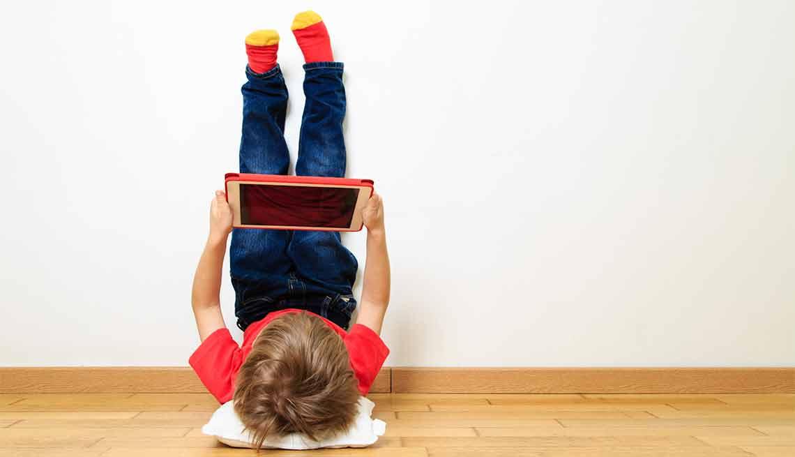 Soporte de tabletas para niños - Tendencias para decorar el cuarto de tus nietos