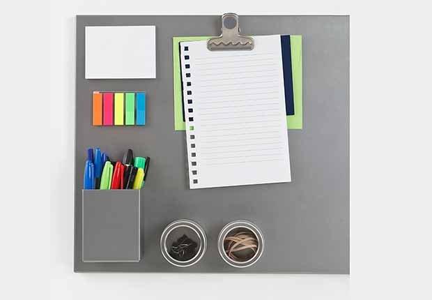 Tablero magnético - Tendencias para decorar el cuarto de tus nietos