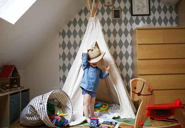 Materiales ecológicos - Tendencias para decorar el cuarto de tus nietos