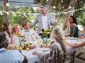 Decoración que hará cualquier boda inolvidable - Personas festejando en una boda