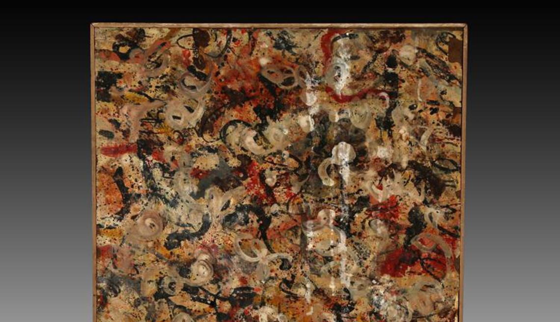 Jackson Pollock painting discovered in Arizona