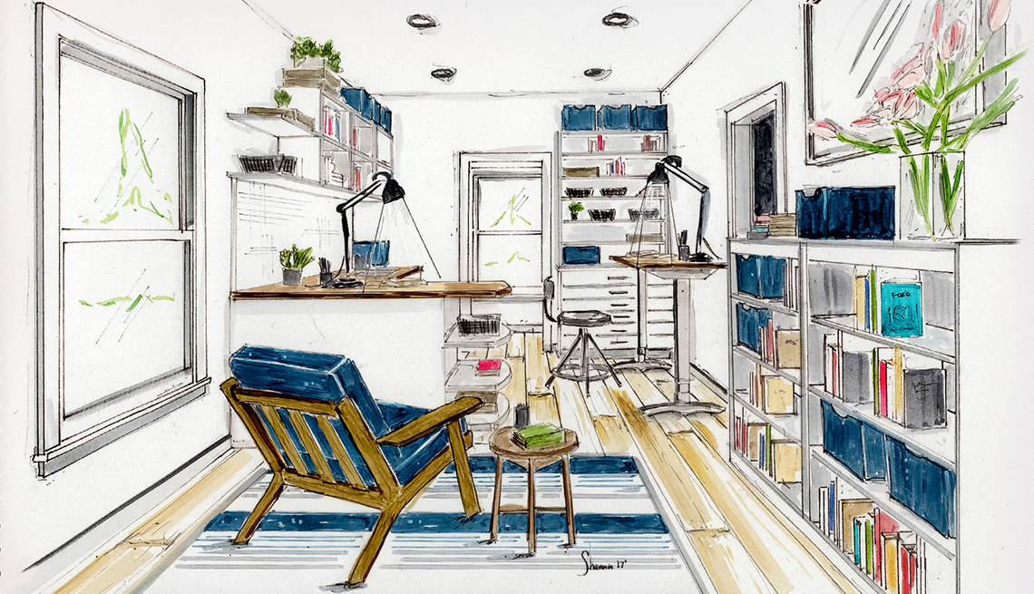 Property Brothers Craft Room Remake