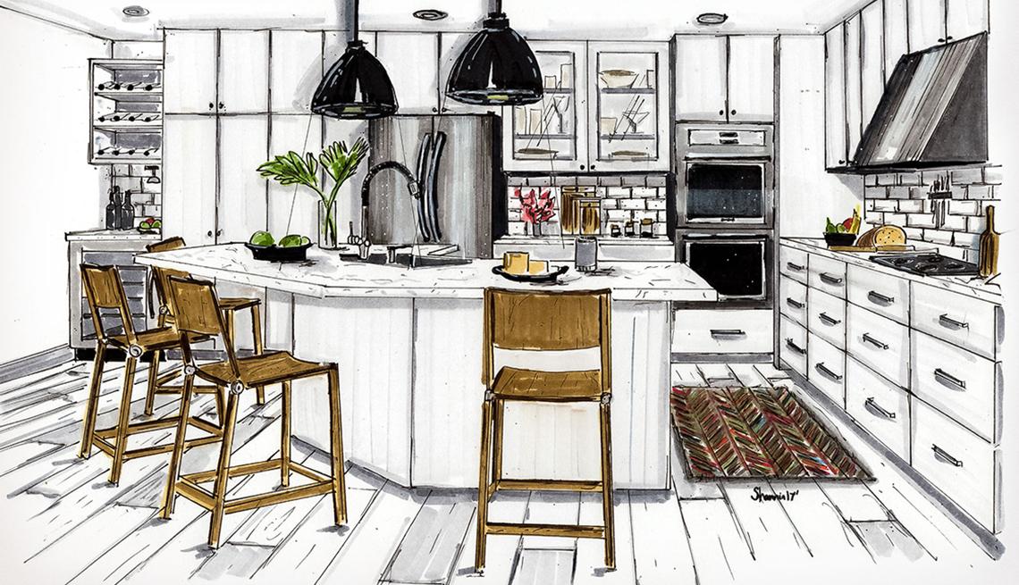 Bulgatz kitchen after