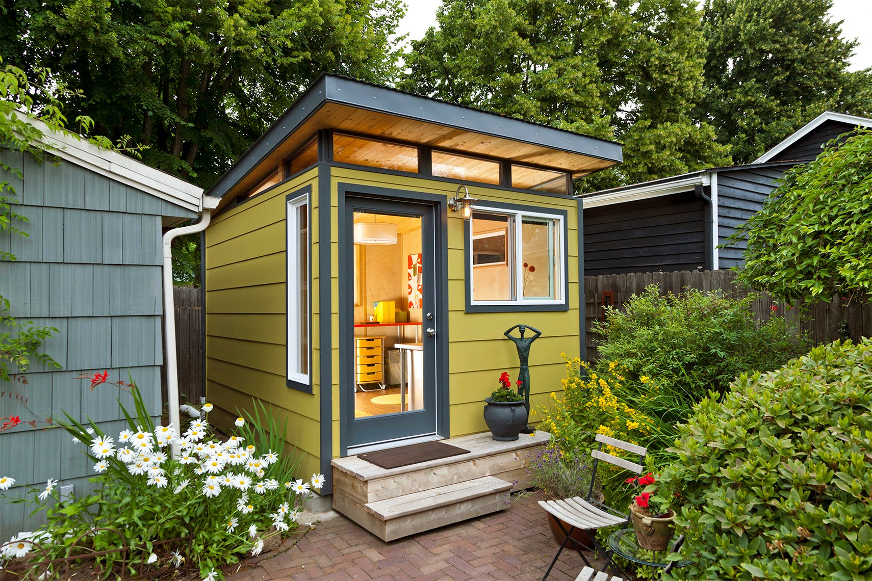 What Color To Paint The Inside Of A Garden Shed
