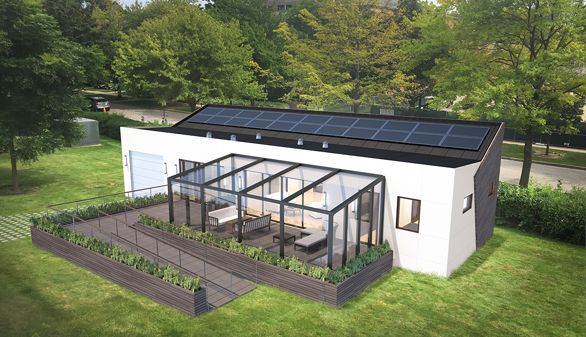 Northwestern Solar House