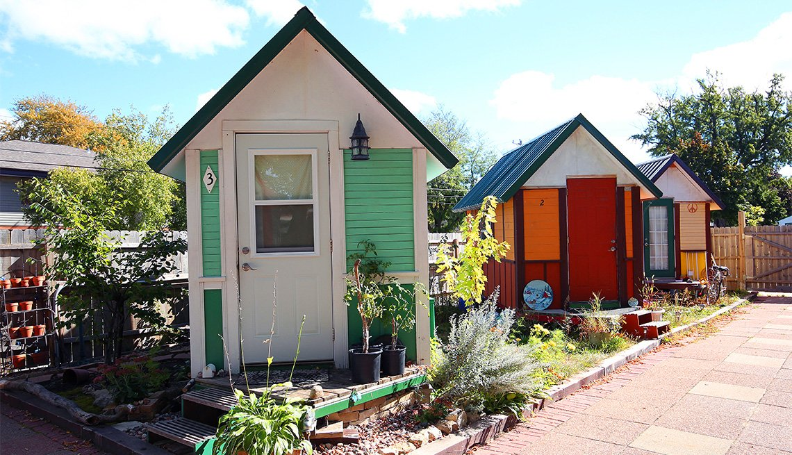 Micro casa en Madison, Wisconsin.