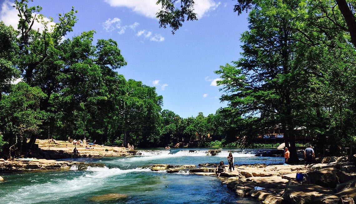 Río San Marcos, Texas.