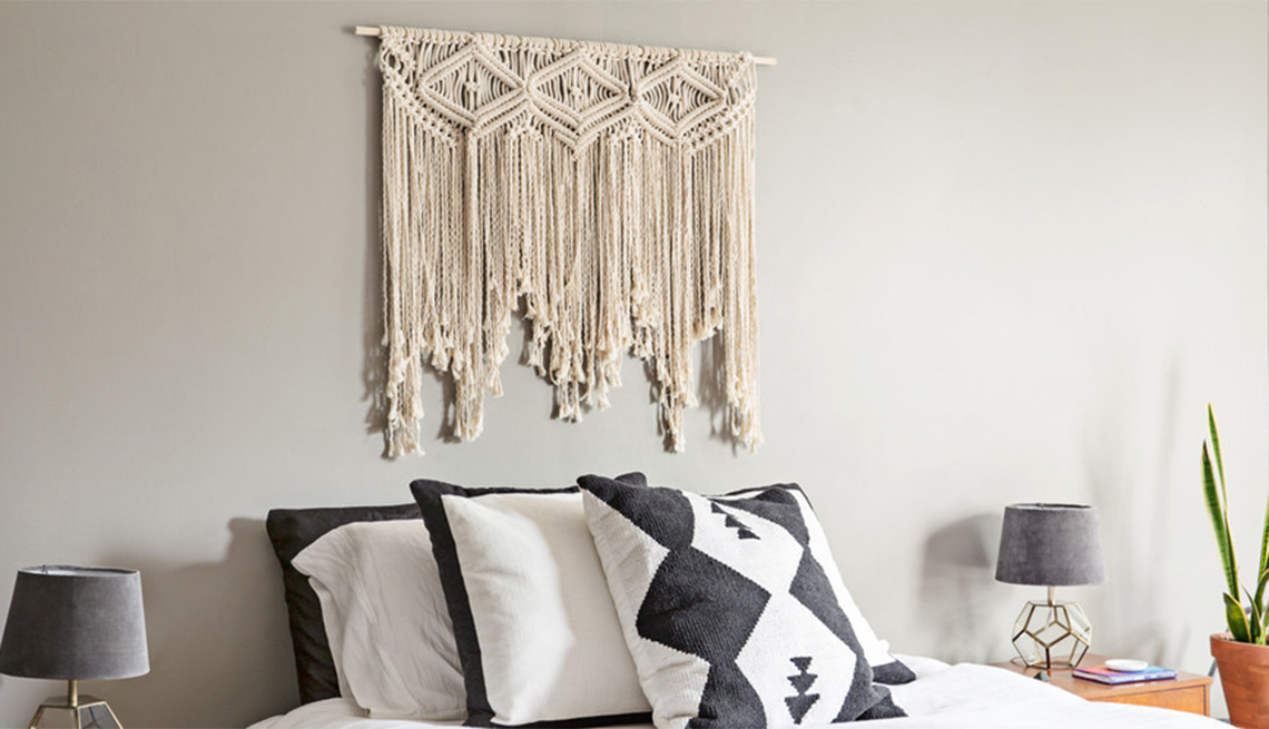 Crochet Rattan And Macrame Among Popular Crafts