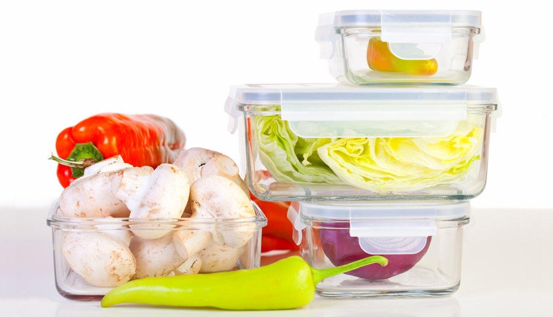 Recipientes de vidrio para la cocina