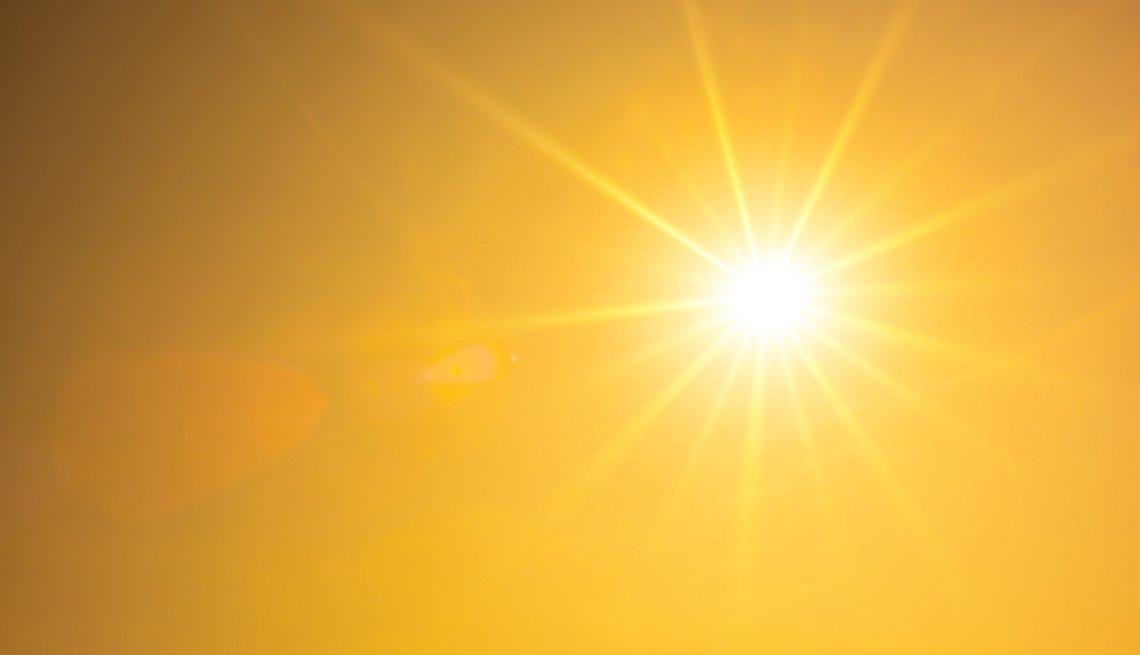 Sol reluciente