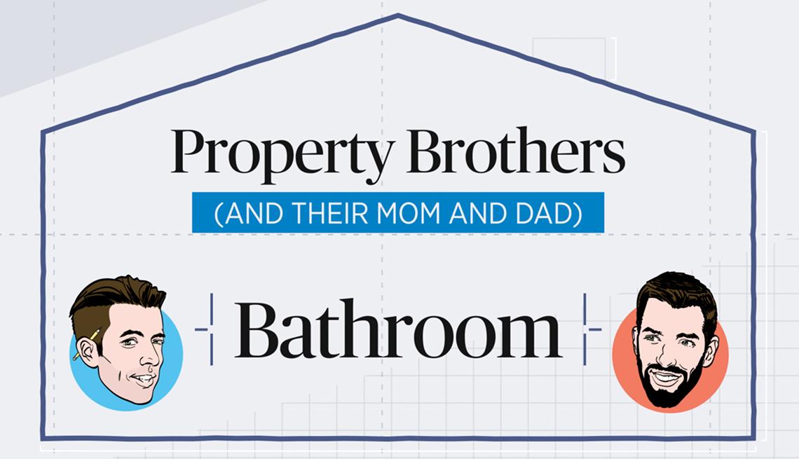Property Brothers bathroom renovations