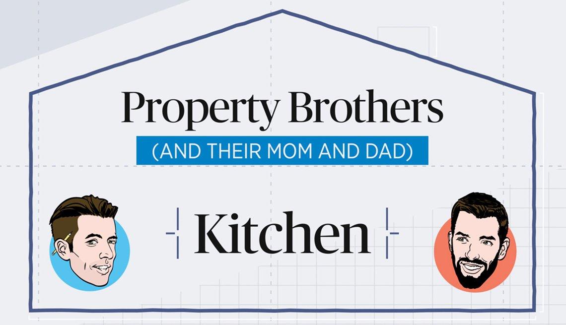 Property Brothers kitchen renovations