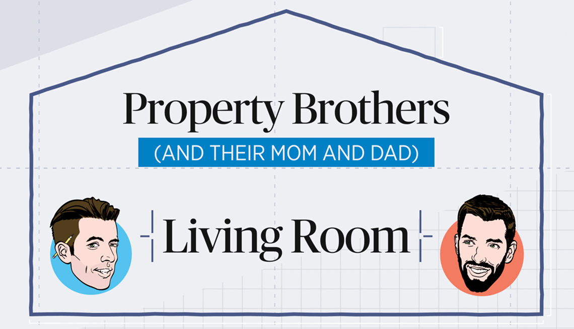 Property Brothers living room renovations