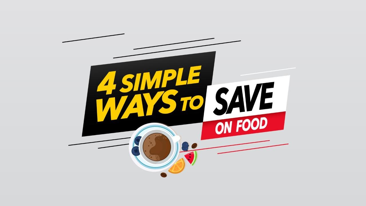 Four simple ways to save on food