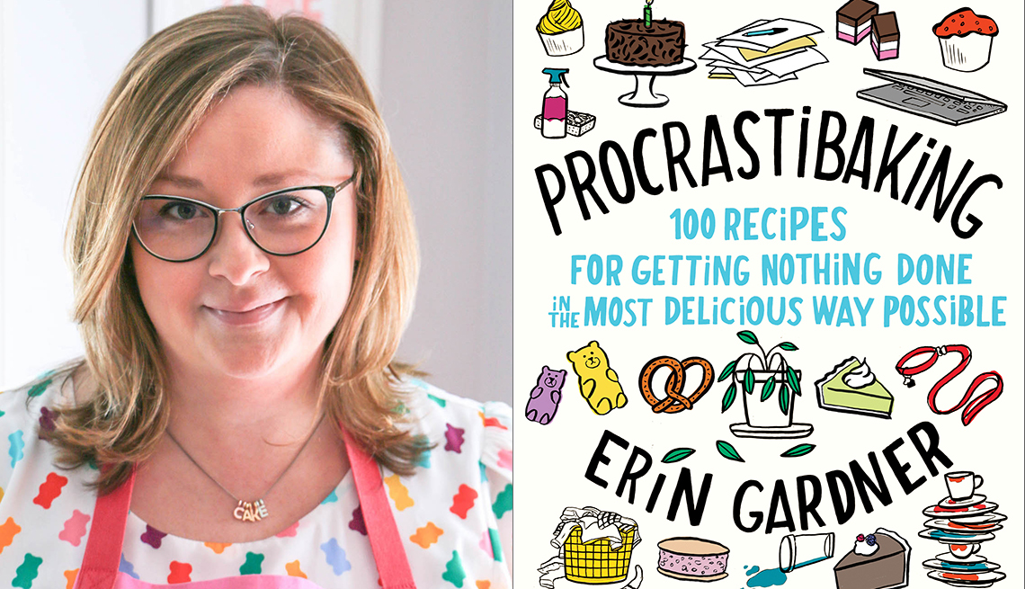 Image of Erin Gardner and Procrastibaking Book Cover