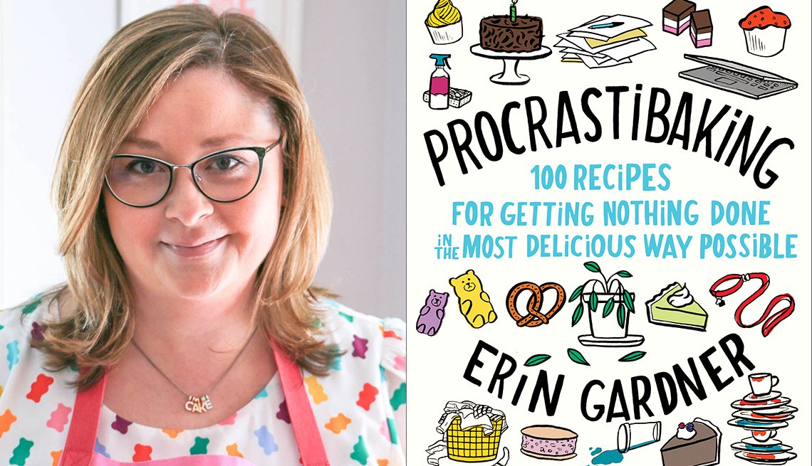 Image of Erin Gardner and Procrastibaking Book Cover