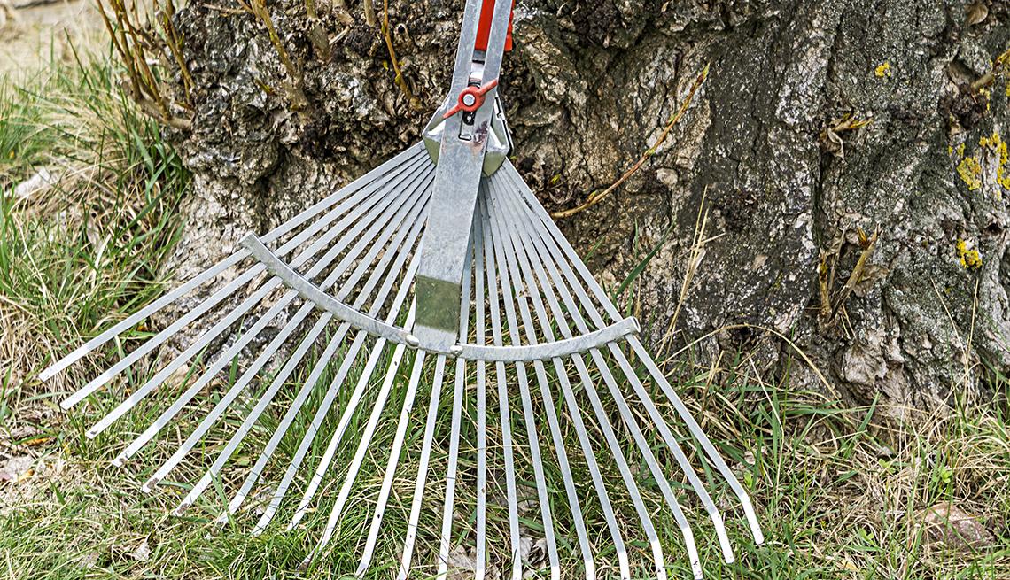 item 3 of Gallery image - Adjustable rake