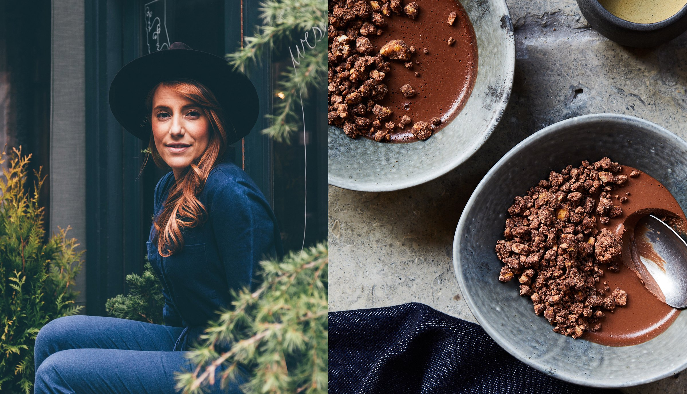 Camilla Marcus - Chocolate Cashew Pudding