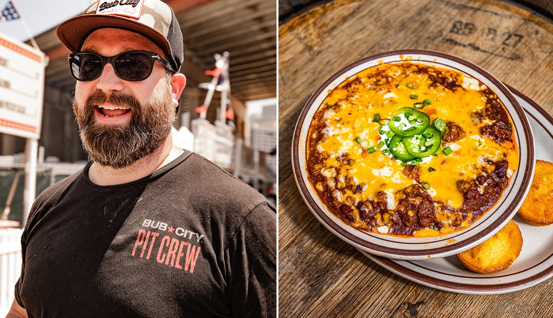 Christian Eckmann and Beef Chili