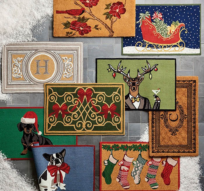 item 5 of Gallery image - Collection of holiday doormats