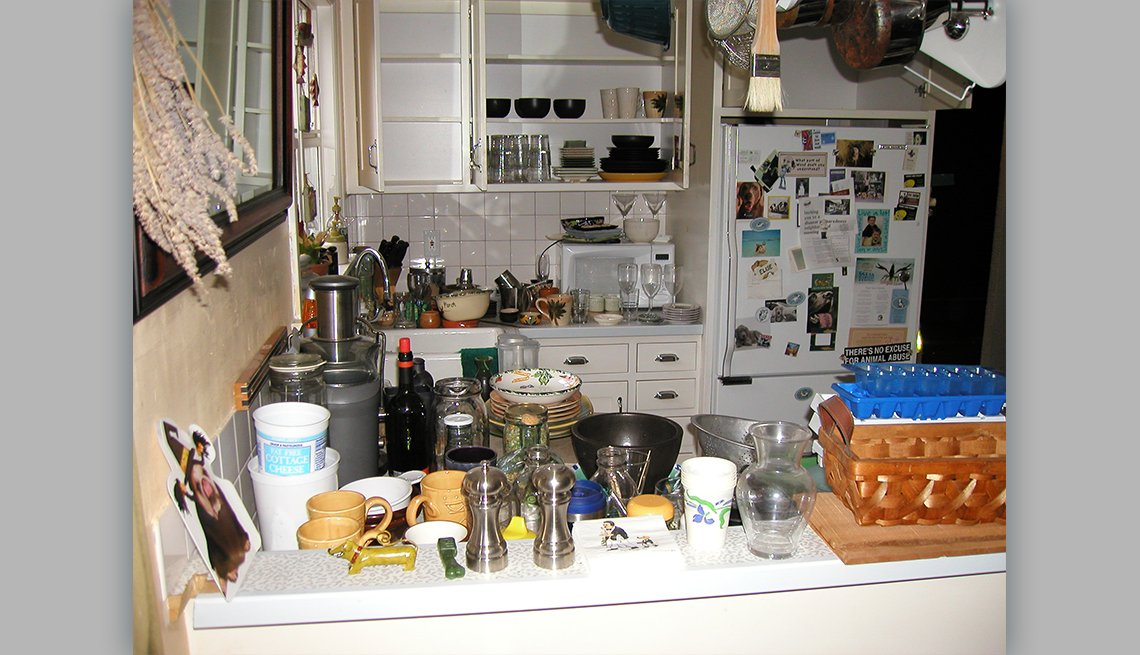 item 5 of Gallery image - a cluttered kitchen