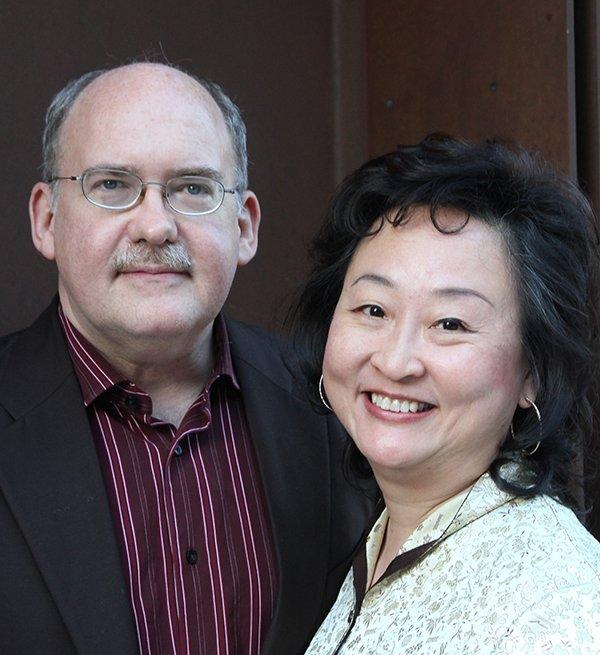 Lia Chang and her husband