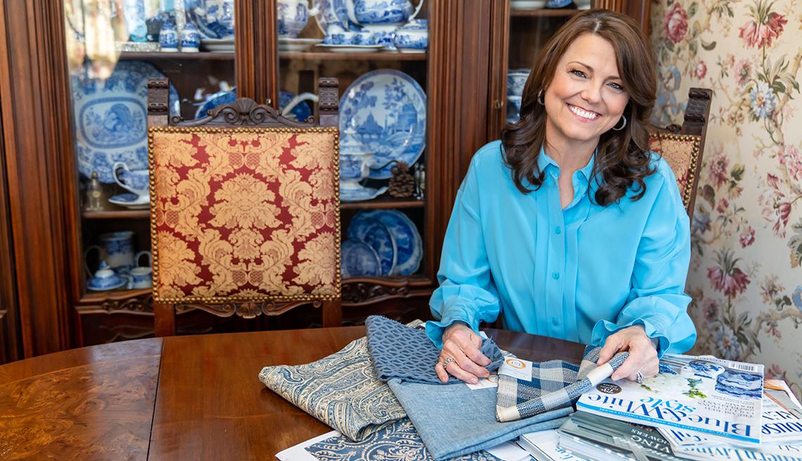 Carolyn Tillery en su casa