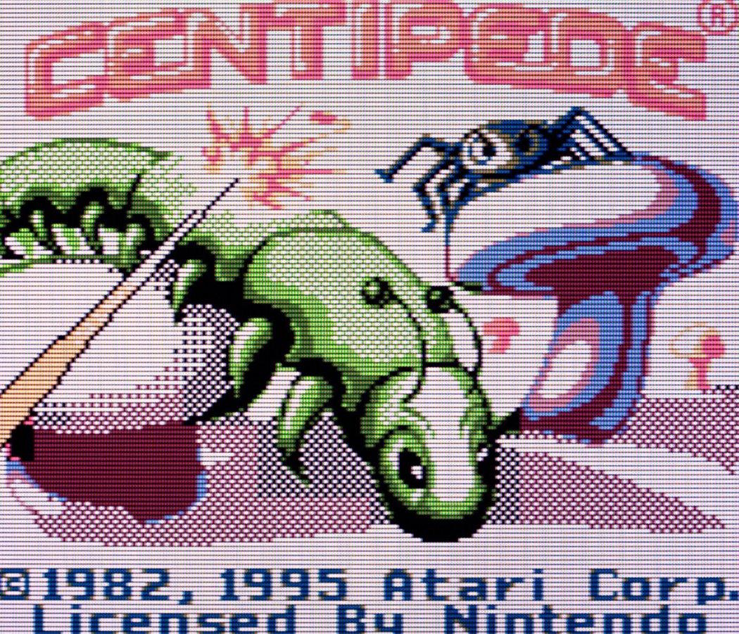 Centipede - Nintendo Game Boy Color Videogame