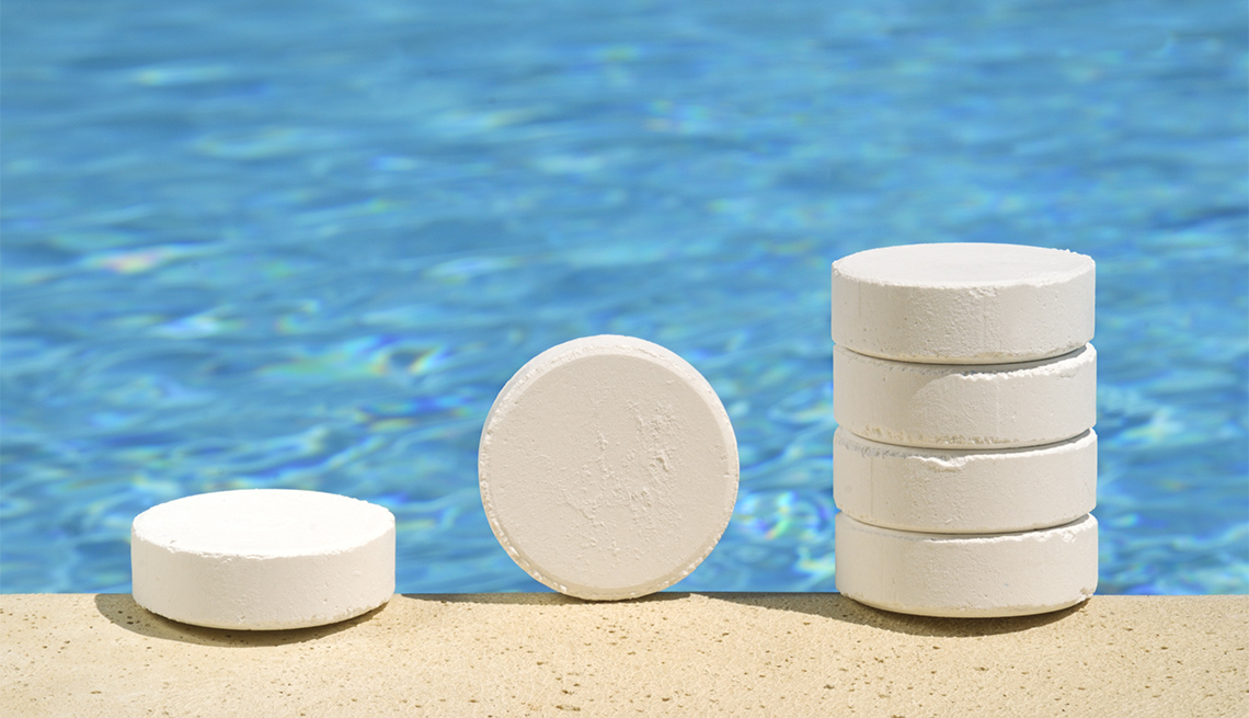 Tabletas de cloro para piscina