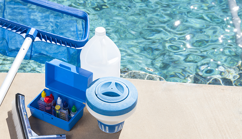 Equipment for testing the quality of pool