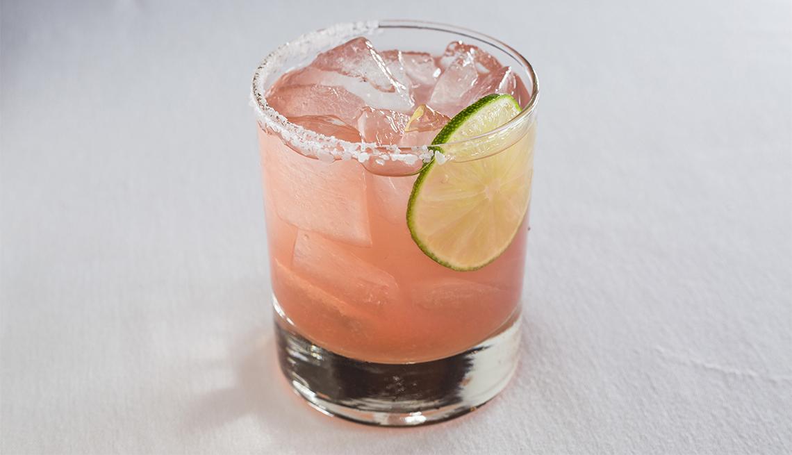Margarita con jugo de toronja
