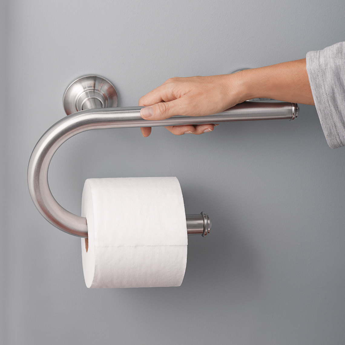 Soporte de papel higiénico para el baño