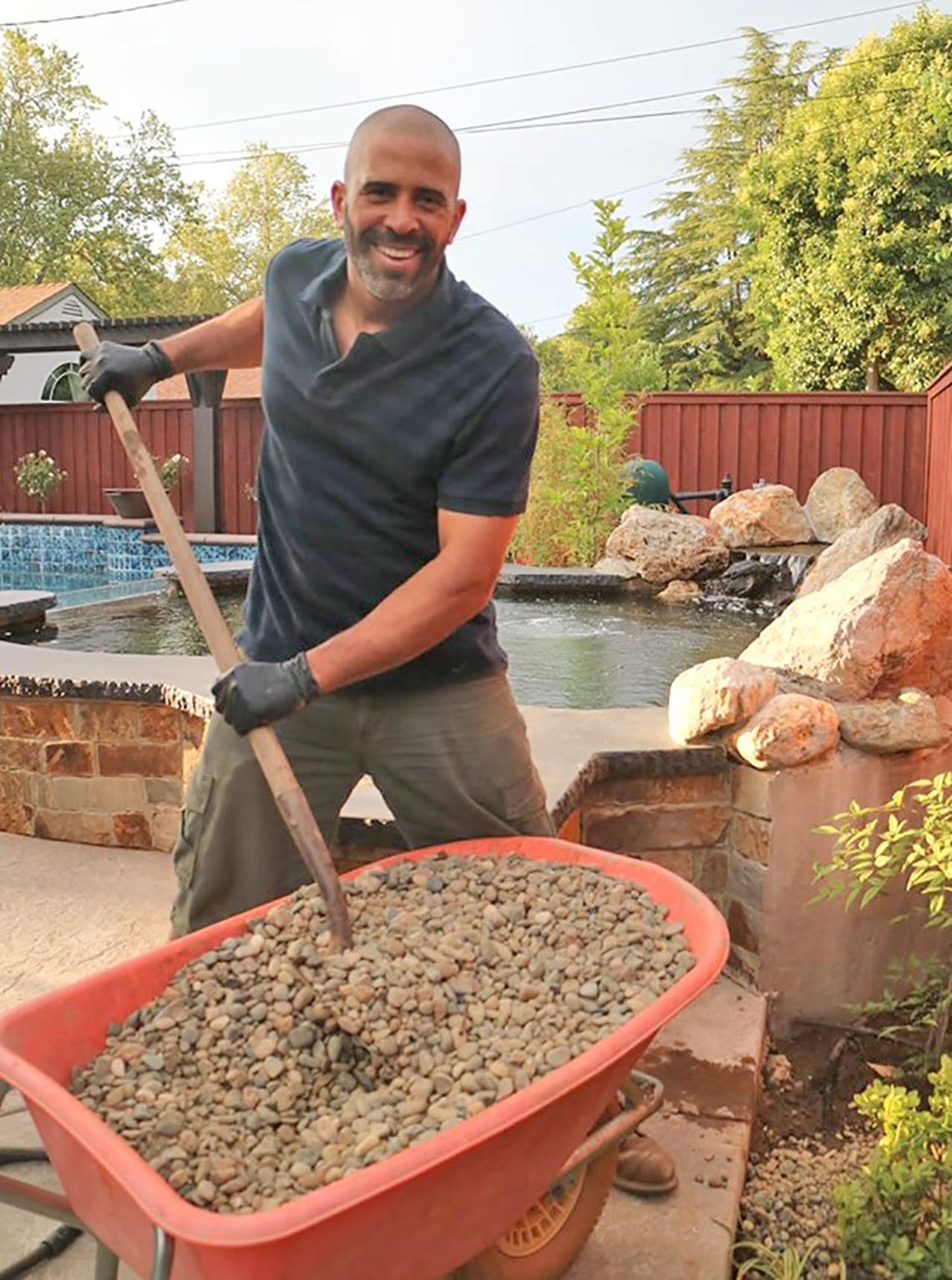 ahmed hassan landscape designer and host of yard crashers