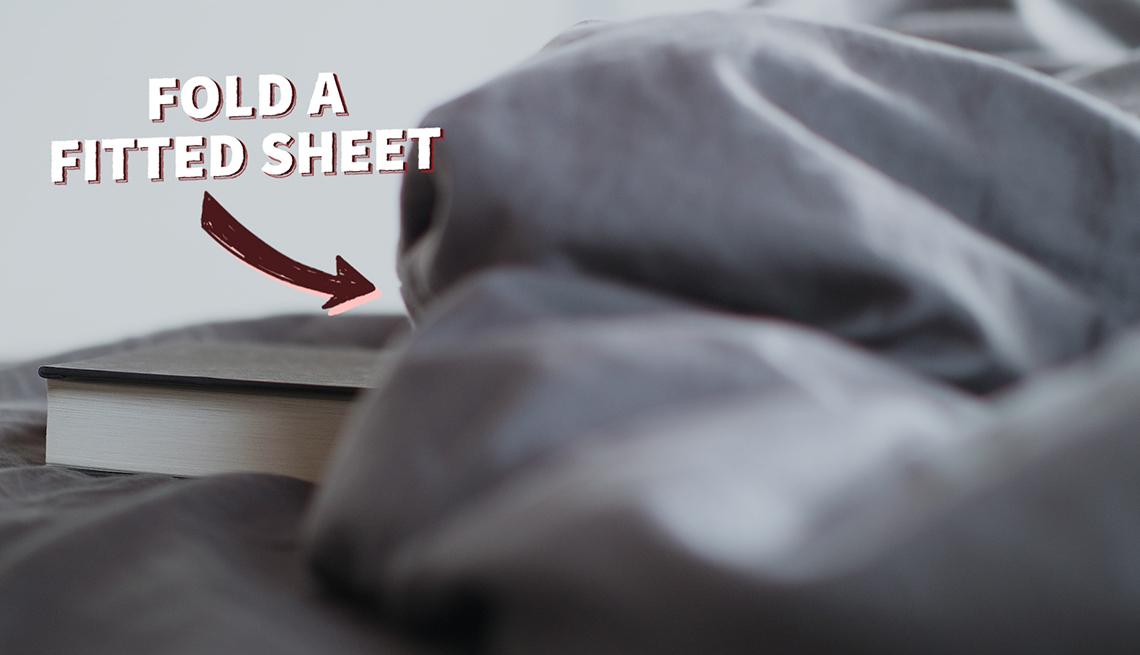 Una sábana arrugada