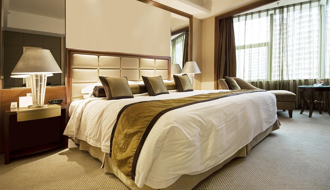 Habitación de hotel de lujo
