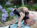 Fotografiando su jardin