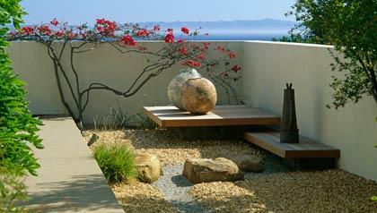 C mo crear un jard n zen en la casa jardiner a aarp en - Para que sirve un jardin zen ...
