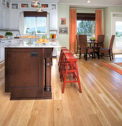 Comfortable Kitchen Flooring