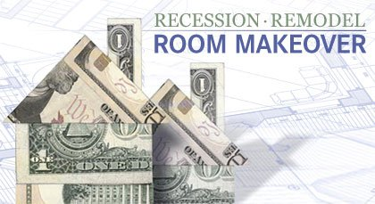 Recession Remodel Room Makeover - banner