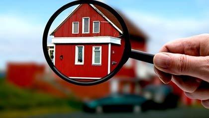 Casa mirada a traves de una lupa - Inspecciones de las casas