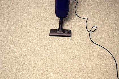 Limpie los gérmenes de su casa: Aspire su tapete