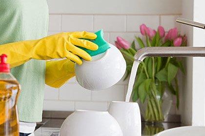 امسحي الجراثيم المنزلية