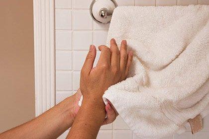 Limpie los gérmenes de su casa: las toallas