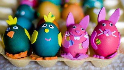 Huevos de Pascua - Ideas para que su casa refleje la Pascua
