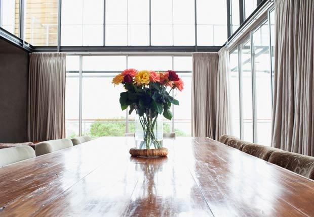 Un florero en la mitad de una sala - 10 ideas para arreglar su casa