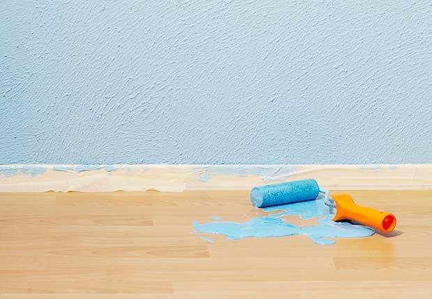 Manchas en el piso - Arreglos de pequeños accidentes de la casa