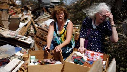 FEMA denies aid to tornado victim