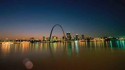 El arco de St. Louis