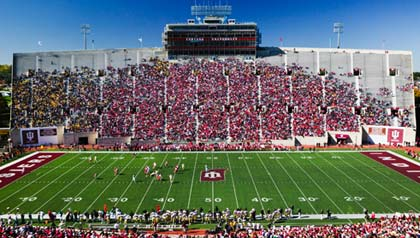 Indiana University sports dominate Bloomington, Indiana where retirees can attend games